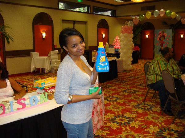 Here are some pictures of actress Sicily Sewell's baby shower. Wow ...