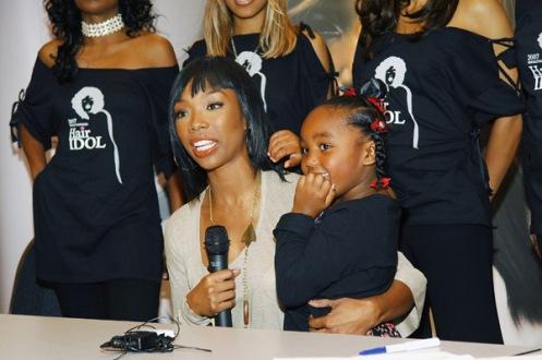 Brandy with daughterSy'Rai