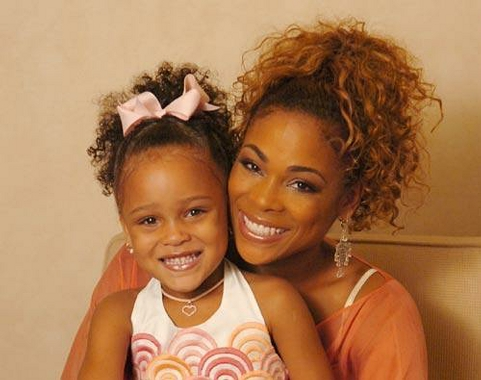 T-Boz anddaughter
