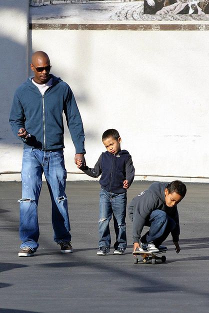 Dave Chappelle and his sons