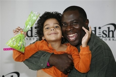 Photo of Gary Anthony Williams  & his  Son  Ethan Williams