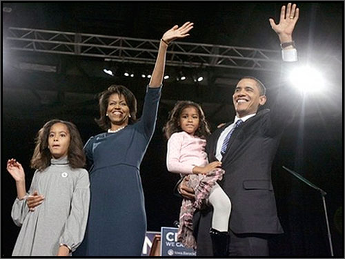 president obama and family. Barack Obama