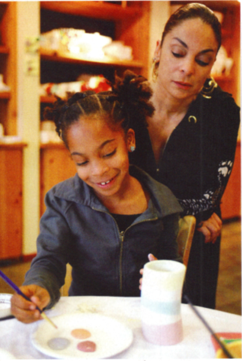 JASMINE GUY AND DAUGHTER IMANI: A MOMMY AND DAUGHTER DUO ...