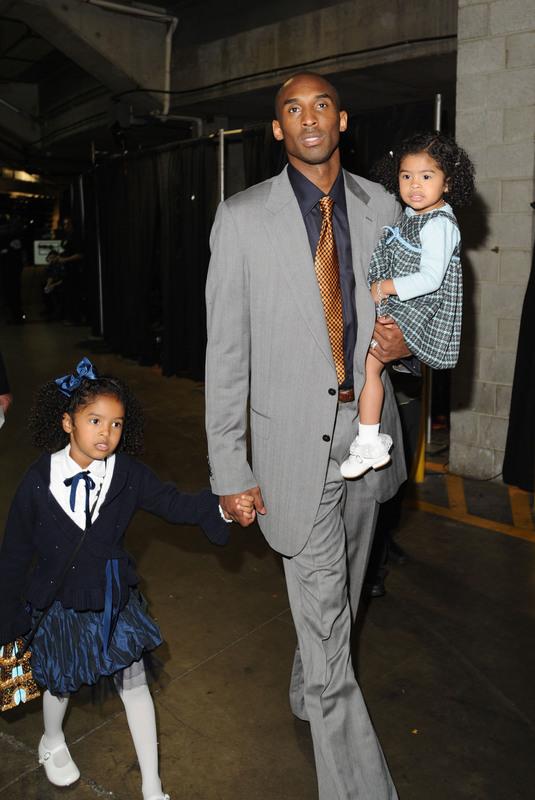 kobe bryant wife. NBA Lakers player Kobe Bryant