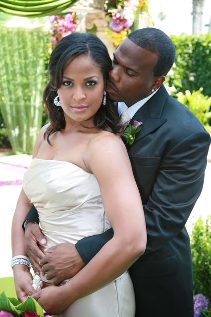 Laila Ali and Curtis Conway's Wedding - pinterest.com