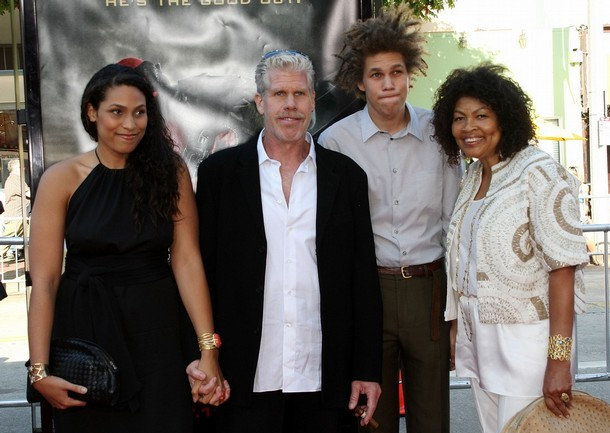 Photo of Ron Perlman & his  Son  Brandon Avery Perlman