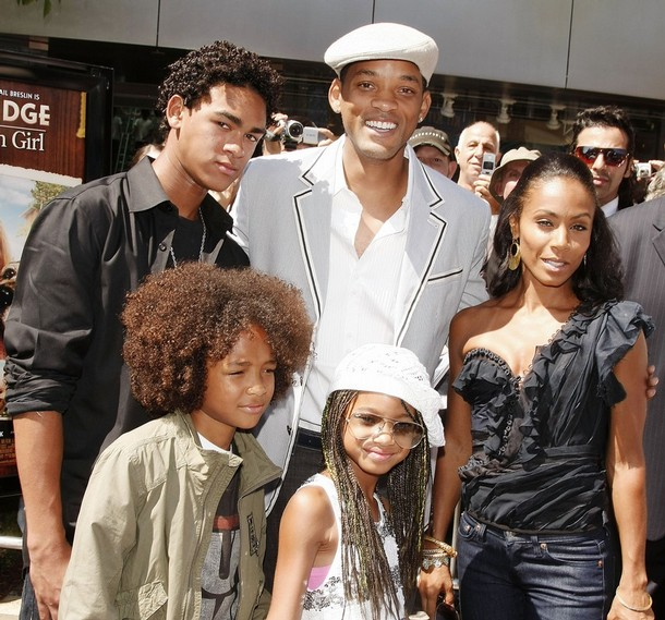 will smith family pictures. will smith family guy.
