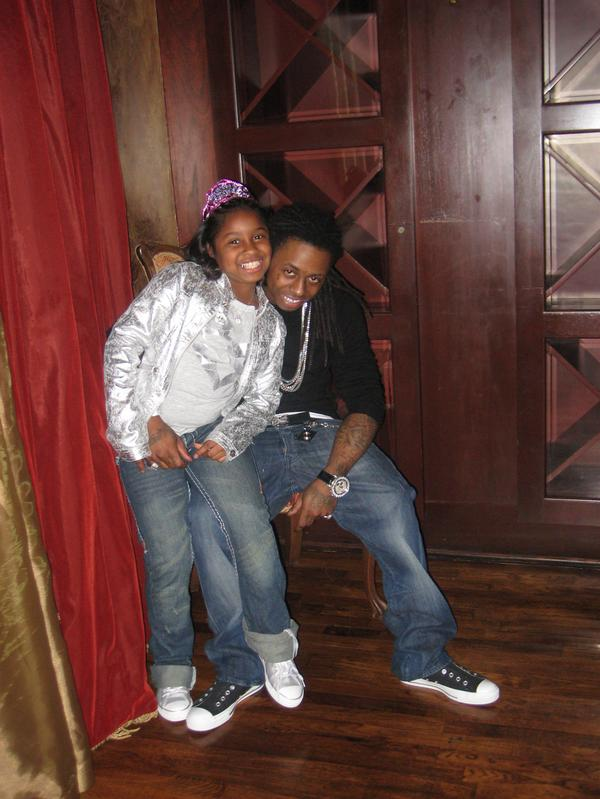 MORE PICTURES WITH RAPPER LIL WAYNE'S DAUGHTER ...