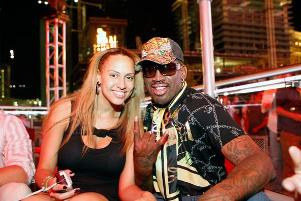 Dennis Rodman And Daughter Alexis In Vegas Blackcelebritykids Black Celebrity Kids Babies And