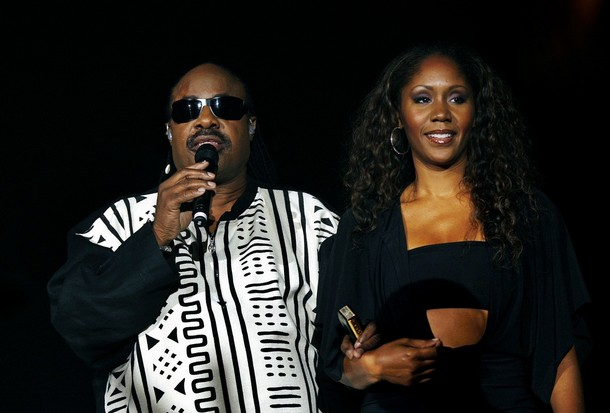 THE BIG KIDS' FILES:STEVIE WONDER AND DAUGHTER AISHA