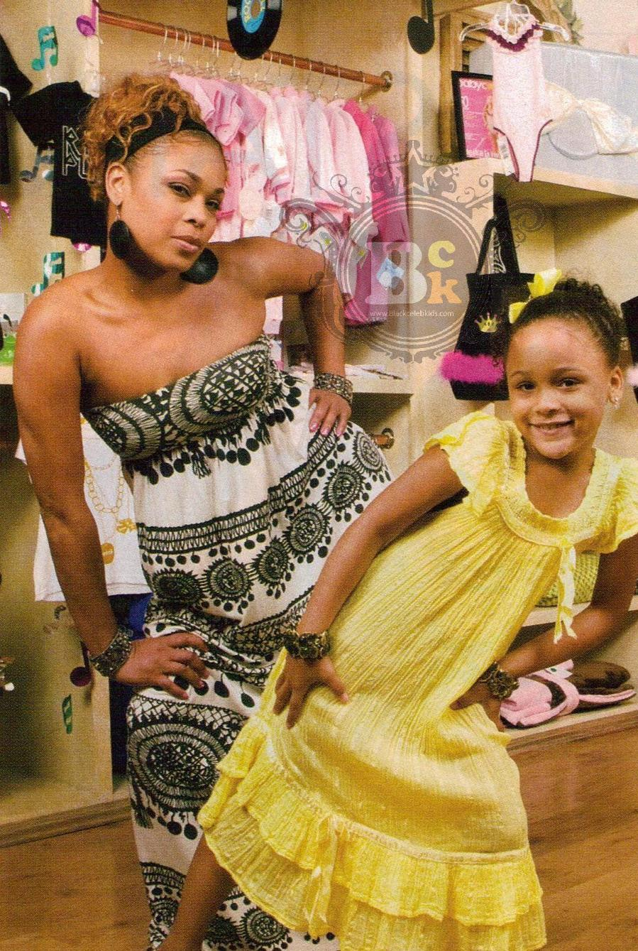 "TIONNE ""T-BOZ"" WATKINS AND DAUGHTER CHASE ARE TRENDSETTERS."