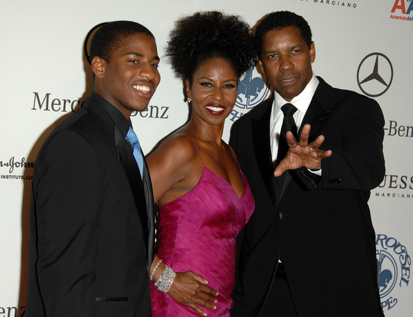 denzel washington family life