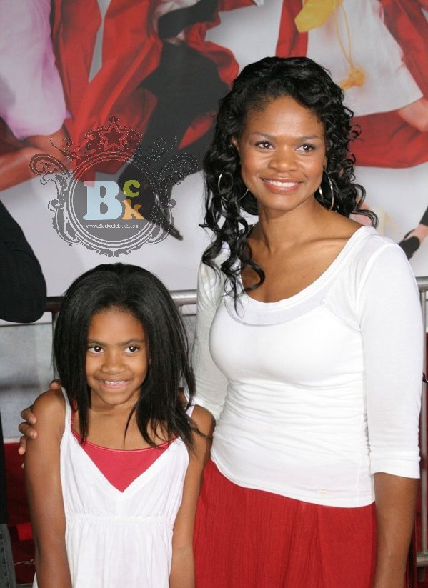 Kimberly Elise Daughter Ajableu Actress kimberly elise,whose