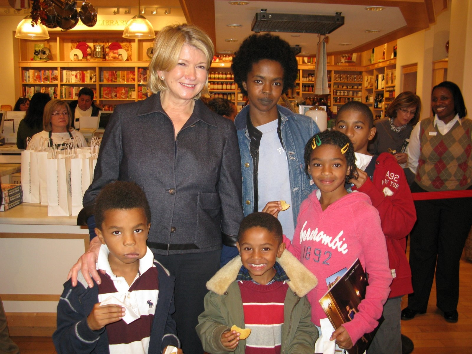 LAURYN HILL AND KIDS COME OUT OF HIDING! « BLACKCELEBRITYKIDS- Black ...